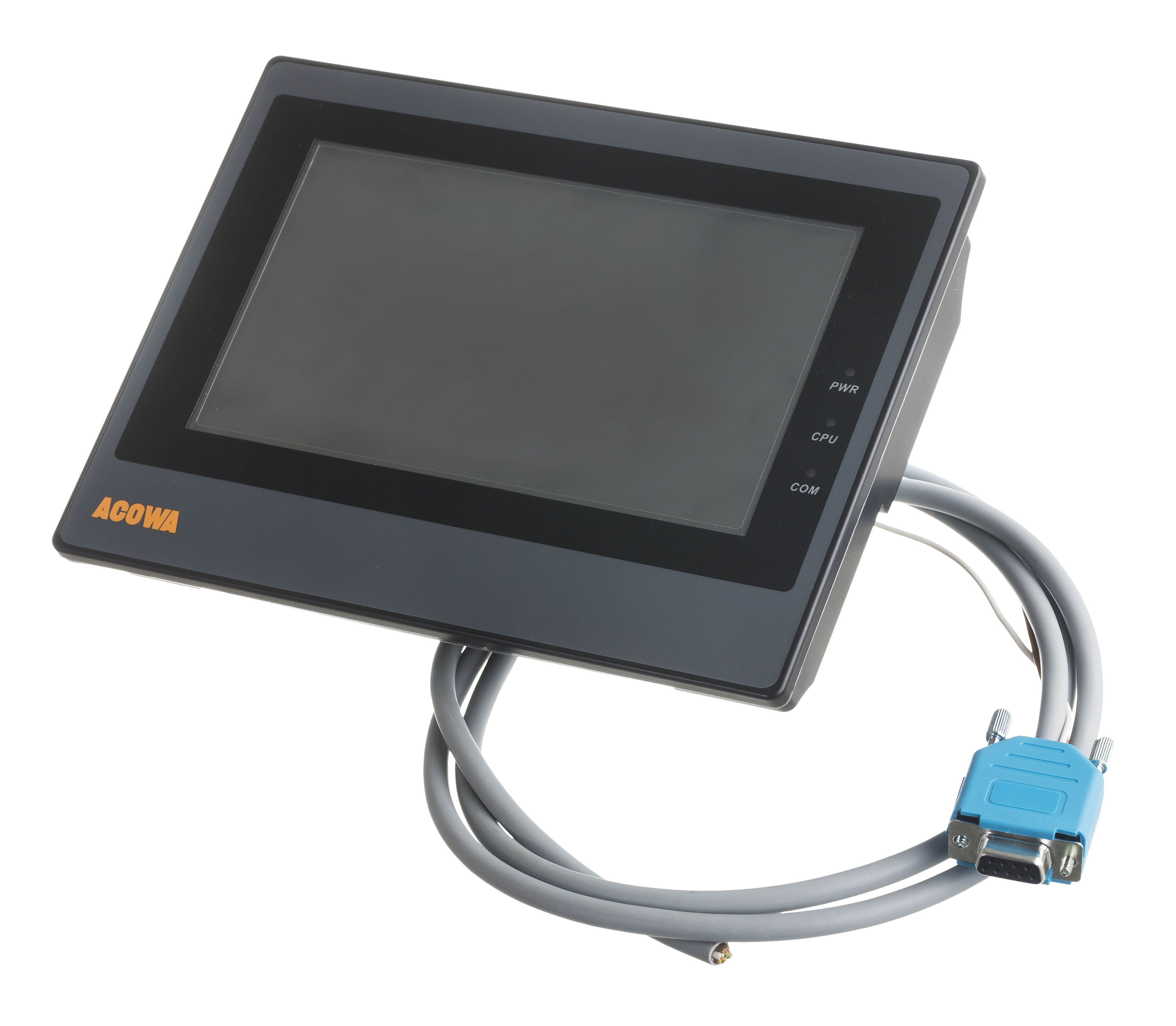 Pumpestyring med farve touch display
